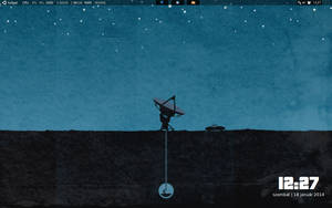 Openbox science desktop by hallgat