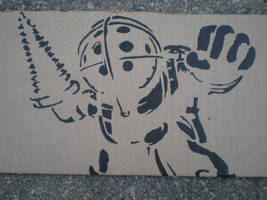 Big Daddy Stencil by SoLKoNE