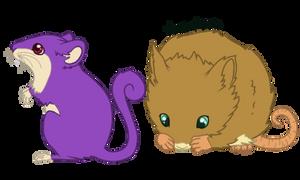 Pokedex: The Mouse Pokemon by SnowyKestrel