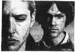 Winchesters in dots by ihni