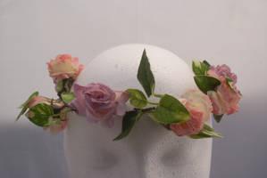 DSC09608 Floral Crown 4 by wintersmagicstock