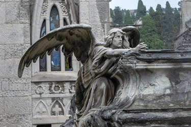DSC 0022 Montjuic Cemetery by wintersmagicstock