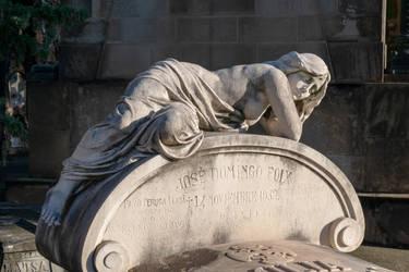 DSC 0201 Montjuic Cemetery by wintersmagicstock