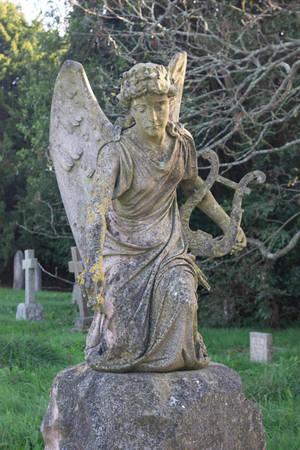 DSC 1128 Autumn Cemetery by wintersmagicstock