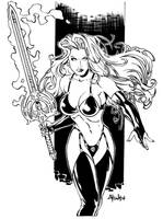 Lady Death by luisalonso