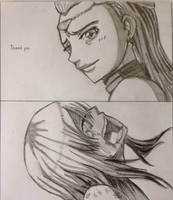 Fairy Tail:Lucy and Aquarius by PINB242