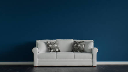3D sofa by abdollah4ever