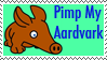 Pimp My Aardvark Stamp by zucky