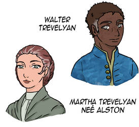 Walter and Martha Trevelyan by yinyangswings