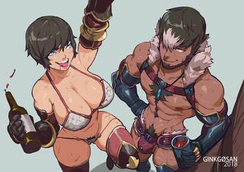 Knight Squad by Ginkgosan