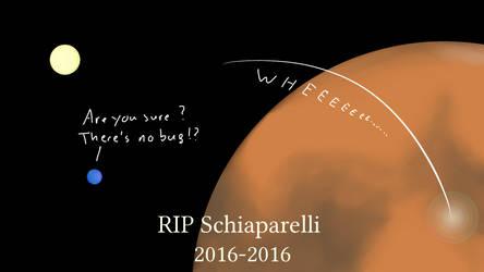 RIP Schiaparelli by Louiliam