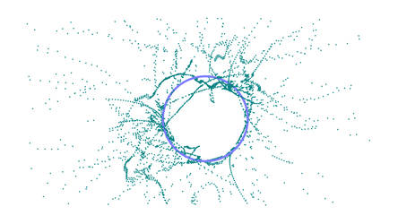 Three ellipses [Maths wallpaper] by Louiliam