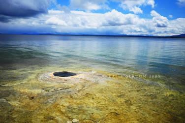 Geyser Basin by katieg
