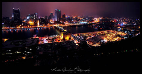 Pittsburgh Skyline 2 by katieg
