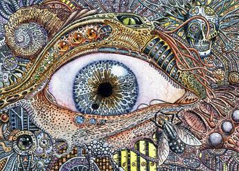 Bio-mechanical eye by AkdasFirst