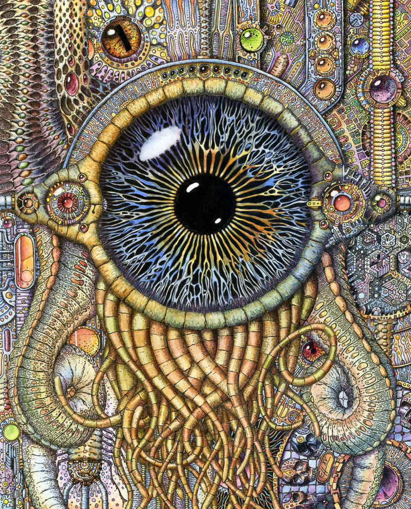 Bio-mechanical eye III by AkdasFirst