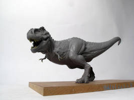 Tyrannosaurus rex finished sculpt by Thomasotom