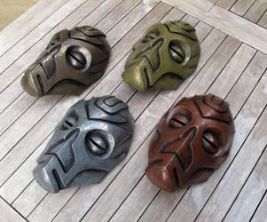 Dragon Priest Masks by Thomasotom