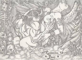 Angel and Devil Erotica 1996 by JaeDub003