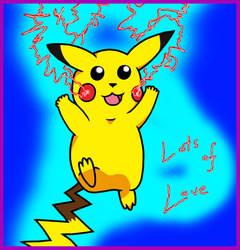 Valentines - Pikachu by Twitnip