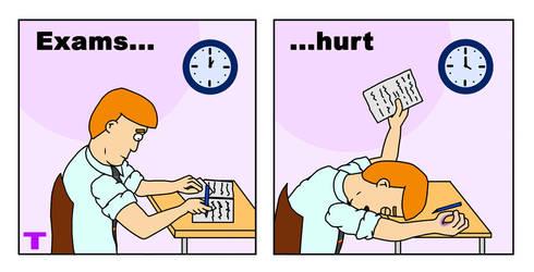 Exams...   .3 by Twitnip