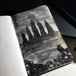 The Eclipse (Berserk manga illustration)  by nataliec567
