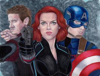 Avengers by MattSimas