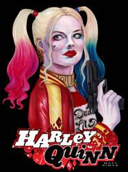 Margot Robbie Harley Quinn by MattSimas