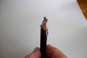 pencil carving key ring by cerkahegyzo