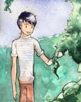 Short tale - Sketch by Evychan