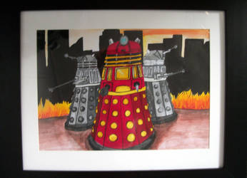 Daleks by iSqueex