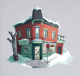 Montreal depanneur by Cabycab
