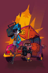Regular Show cover by Cabycab