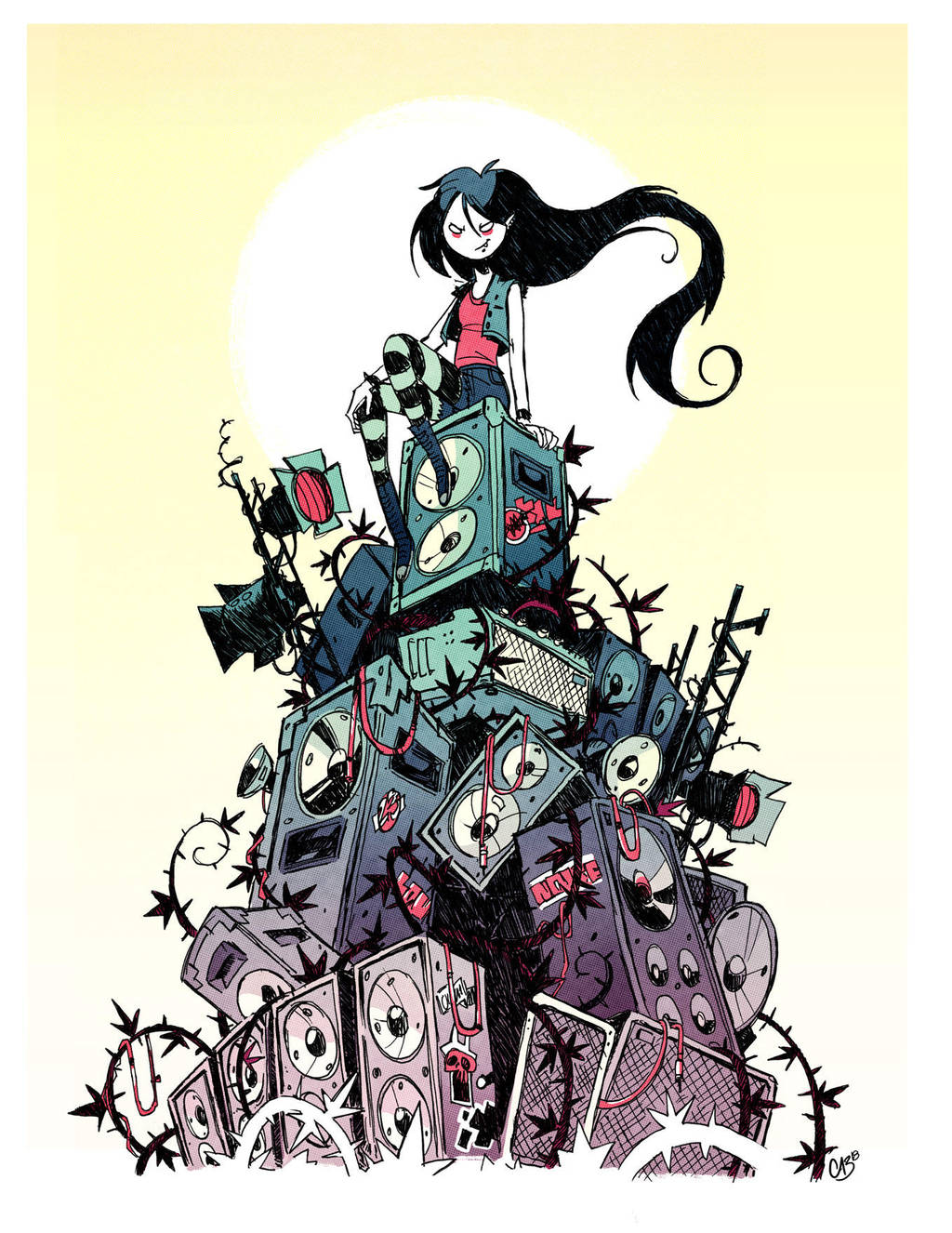 Marceline by Cabycab