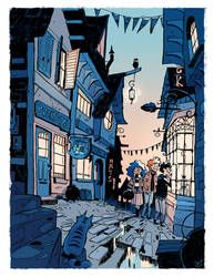 Diagon Alley by Cabycab