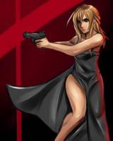 Aya's got a Gun by Jheralde