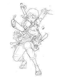 Jenny_armed by Valhein