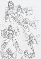 Marvel Disc Wars: Studies by BlueIke