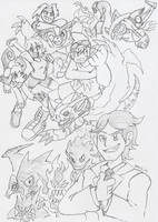 Commish: A New DigiGeneration! by BlueIke