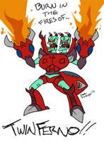 Transformers: Infernal Whatshisname by BlueIke