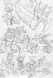 DZLegendArms: Hyokomon Character Study by BlueIke