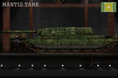 Esmorian Mantis Tank by KevinTinierme