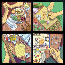 Around the Table by jujucobb