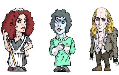 Rocky Horror Picture Show by jujucobb