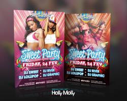 Sweet Dance Party Flyer by imagingdc