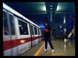 Transit girl by mortichro