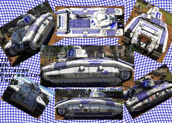 a strange depressive tank by LightDelablue