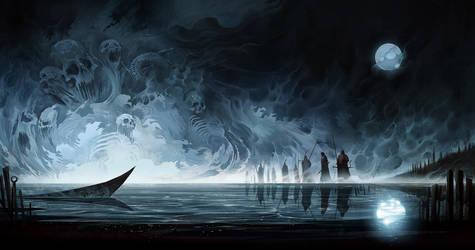 Ming-Men Lake by SeanSoong