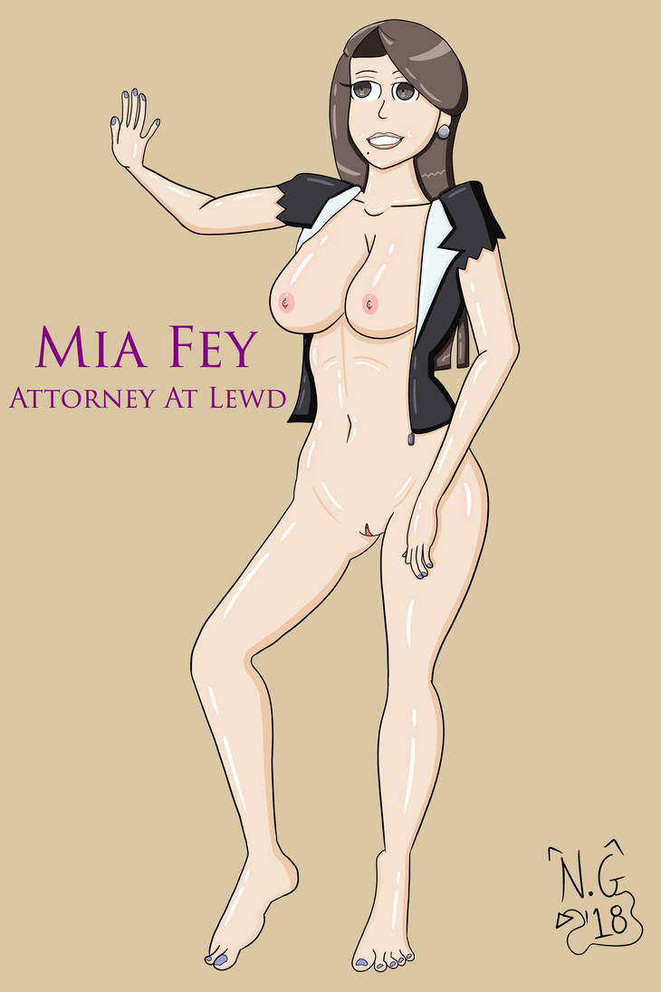 Mia Fey: Attorney At Lewd by TheNaughtyGoblin