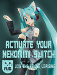 FUR - Activate your Nekomimi Switch by olivaaa
